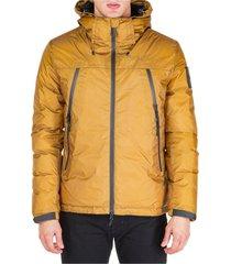 men's outerwear down jacket blouson hood ripstop warp 15