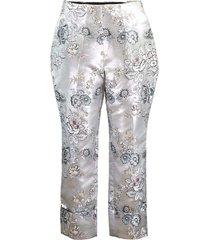 warner floral jacquard trouser