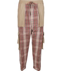 vivienne westwood multicolor cotton trousers