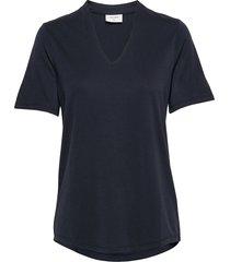 yr-ss-bl t-shirts & tops short-sleeved blå free/quent