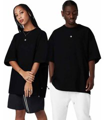 converse camiseta crossover black