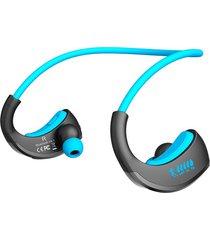 audífonos bluetooth estéreo hd manos libres inalámbricos, armor ipx5 impermeable auriculares deportivos inalámbricos anti-sudor auriculares auriculares corriendo (azul)