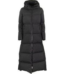 long laminar windstopper down jacket