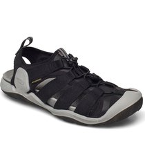 ke clearwater ii cnx m black-keen yellow shoes summer shoes sandals svart keen