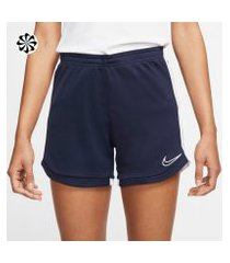 shorts nike dri-fit academy feminino