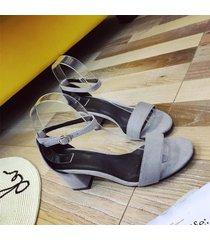 diseño de plataforma de alto espesor de verano mujer sandalias confortables sandalias antideslizamiento