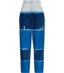 alberta ferretti oceanic tie dye i love summer jeans