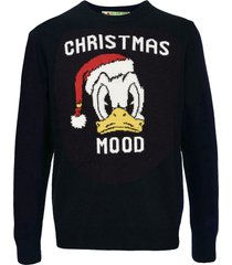 donald duck blue mans sweater - disney® special edition