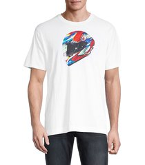 robert graham men's drift regular-fit graphic t-shirt - white - size xxl