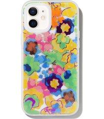 sonix vintage bloomy iphone 12/12 pro & 12 pro max case - yellow