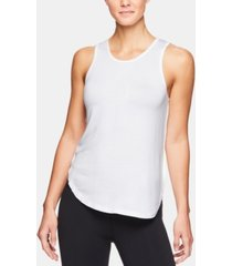 gaiam gianna cutout-back tank top