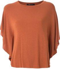 uma raquel davidowicz charles batwing sleeves blouse - brown