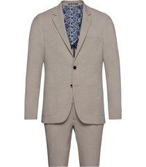 bs puglia, suit set kostym beige bruun & stengade