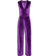 tuta elegante in velluto (viola) - rainbow