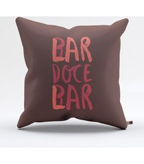almofada lar doce bar