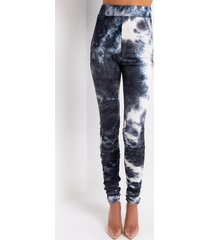 akira miss thang tie dye stacked legging