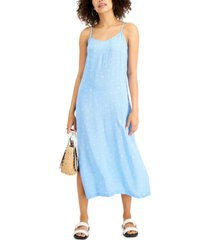 style & co petite slip dress, created for macy's