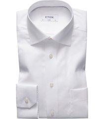 eton overhemd classic fit wit