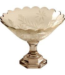centro de mesa de vidro decorativo santa mônica pequeno