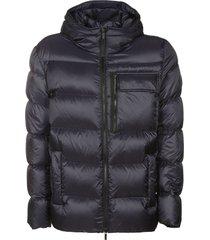hogan mid-length padded jacket