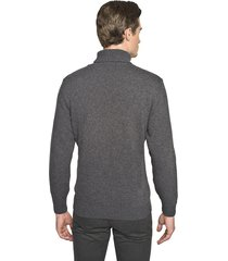 sweter gilder golf szary