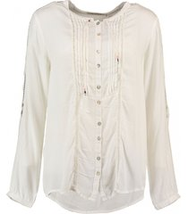 10 feet off white viscose blouse