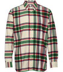 relaxed blown up che overhemd casual multi/patroon tommy hilfiger