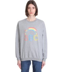 see by chloé sweatshirt in grey cotton