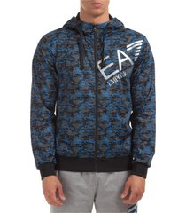 emporio armani ea7 vigor 7 zip-up sweatshirt