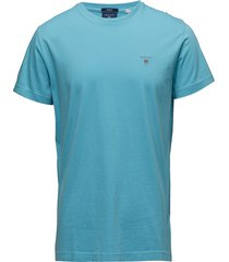 original ss t-shirt t-shirts short-sleeved blå gant