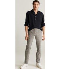 lyocell regular-fit overhemd