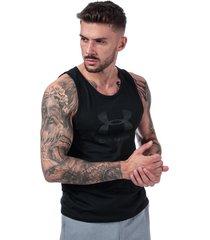 mens sportstyle logo tank vest