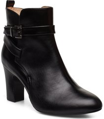umbria_ne shoes boots ankle boots ankle boots with heel svart unisa