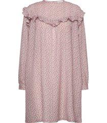 satine dress kort klänning rosa nué notes