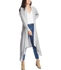 1.state open-front maxi cardigan sweater