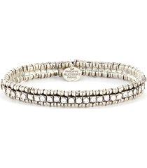 new broome' swarovski crystal elastic bracelet