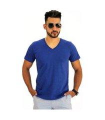 camiseta pau a pique azul