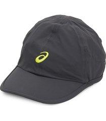 asics men's mad dash baseball cap - graphite