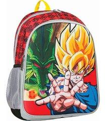 mochila roja dragon ball eva 3d