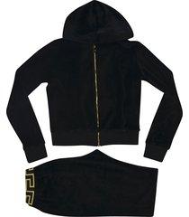 versace branded tracksuit set