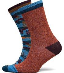 colourful cotton-blend socks underwear socks regular socks multi/mönstrad scotch & soda