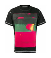 united standard camiseta com estampa abstrata - preto