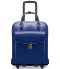 mcklein la grange detachable wheeled briefcase