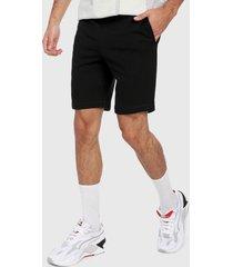 pantaloneta negro asics bl sweat