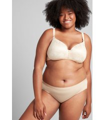 lane bryant women's invisible lace backsmoother lightly lined balconette bra 36ddd cafe mocha