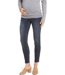 1822 denim maternity ankle skinny jeans, size medium in lennox at nordstrom