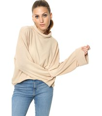 sweater beige destino collection lanilla