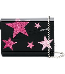 jimmy choo candy clutch bag - preto