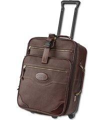 bullhide carry-on roller, brown