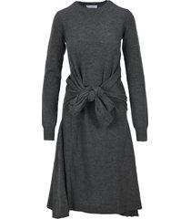 j.w. anderson jw anderson waist tie a-line dress